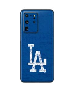 Los Angeles Dodgers - Solid Distressed Galaxy S20 Ultra 5G Skin