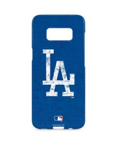 Los Angeles Dodgers - Solid Distressed Galaxy S8 Plus Lite Case