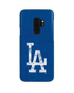 Los Angeles Dodgers - Solid Distressed Galaxy S9 Plus Lite Case