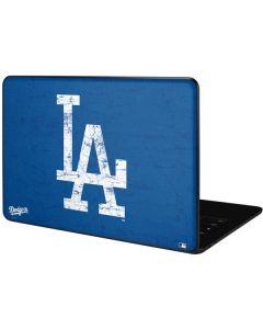 Los Angeles Dodgers - Solid Distressed Google Pixelbook Go Skin