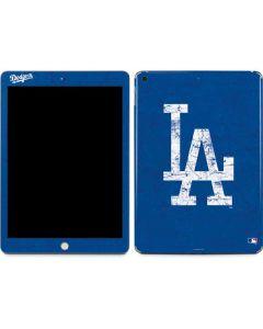 Los Angeles Dodgers - Solid Distressed Apple iPad Skin