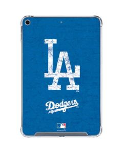 Los Angeles Dodgers - Solid Distressed iPad Mini 5 (2019) Clear Case