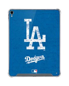 Los Angeles Dodgers - Solid Distressed iPad Pro 12.9in (2018-19) Clear Case