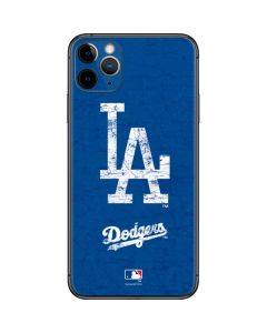 Los Angeles Dodgers - Solid Distressed iPhone 11 Pro Max Skin