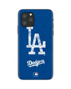 Los Angeles Dodgers - Solid Distressed iPhone 11 Pro Skin