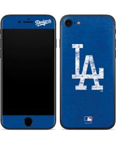 Los Angeles Dodgers - Solid Distressed iPhone SE Skin