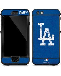 Los Angeles Dodgers - Solid Distressed LifeProof Nuud iPhone Skin