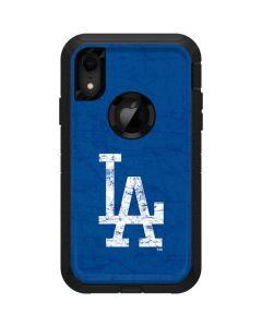Los Angeles Dodgers - Solid Distressed Otterbox Defender iPhone Skin