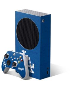 Los Angeles Dodgers - Solid Distressed Xbox Series S Bundle Skin