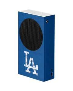 Los Angeles Dodgers - Solid Distressed Xbox Series S Console Skin