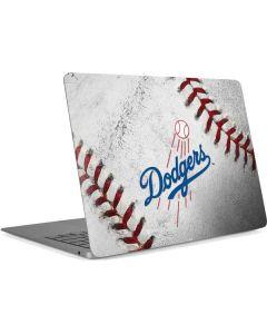 Los Angeles Dodgers Game Ball Apple MacBook Air Skin