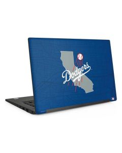 Los Angeles Dodgers Home Turf Dell Latitude Skin