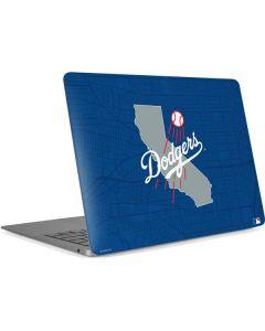 Los Angeles Dodgers Home Turf Apple MacBook Air Skin
