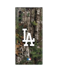 Los Angeles Dodgers Realtree Xtra Green Camo Galaxy Note 10 Skin