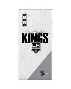 Los Angeles Kings Script Galaxy Note 10 Skin