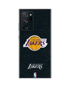 Los Angeles Lakers Black Primary Logo Galaxy Note20 Ultra 5G Skin