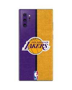 Los Angeles Lakers Canvas Galaxy Note 10 Plus Skin
