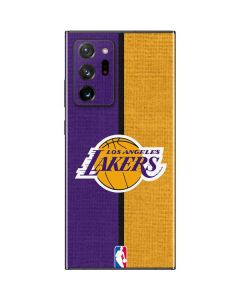 Los Angeles Lakers Canvas Galaxy Note20 Ultra 5G Skin