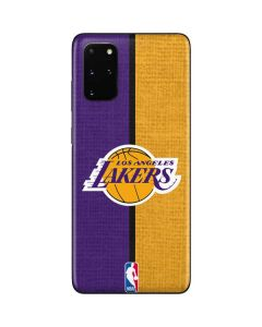 Los Angeles Lakers Canvas Galaxy S20 Plus Skin