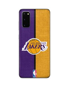 Los Angeles Lakers Canvas Galaxy S20 Skin