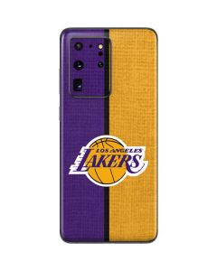 Los Angeles Lakers Canvas Galaxy S20 Ultra 5G Skin