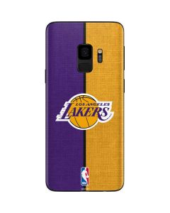 Los Angeles Lakers Canvas Galaxy S9 Skin