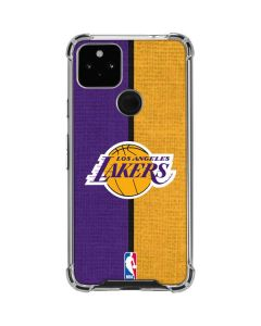 Los Angeles Lakers Canvas Google Pixel 4a 5G Clear Case