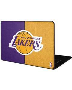 Los Angeles Lakers Canvas Google Pixelbook Go Skin