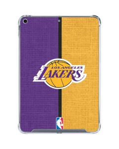 Los Angeles Lakers Canvas iPad 10.2in (2019-20) Clear Case