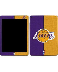 Los Angeles Lakers Canvas Apple iPad Skin