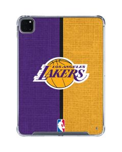 Los Angeles Lakers Canvas iPad Pro 11in (2020) Clear Case