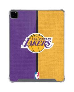 Los Angeles Lakers Canvas iPad Pro 12.9in (2020) Clear Case