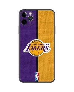 Los Angeles Lakers Canvas iPhone 11 Pro Max Skin