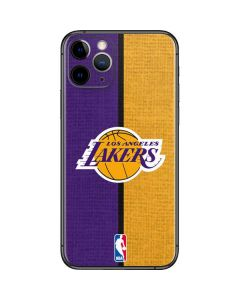 Los Angeles Lakers Canvas iPhone 11 Pro Skin