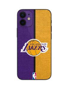 Los Angeles Lakers Canvas iPhone 12 Mini Skin