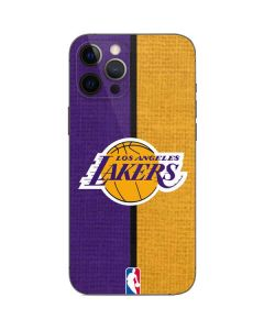 Los Angeles Lakers Canvas iPhone 12 Pro Skin