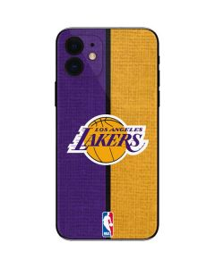 Los Angeles Lakers Canvas iPhone 12 Skin