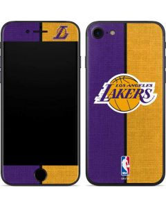 Los Angeles Lakers Canvas iPhone SE Skin