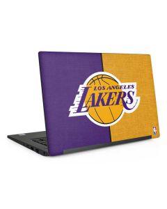 Los Angeles Lakers Canvas Dell Latitude Skin