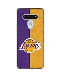 Los Angeles Lakers Canvas LG Stylo 6 Clear Case