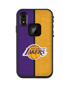 Los Angeles Lakers Canvas LifeProof Fre iPhone Skin