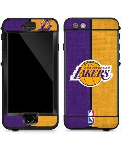Los Angeles Lakers Canvas LifeProof Nuud iPhone Skin