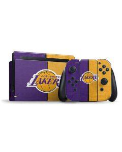 Los Angeles Lakers Canvas Nintendo Switch Bundle Skin