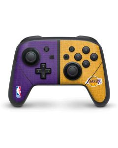 Los Angeles Lakers Canvas Nintendo Switch Pro Controller Skin