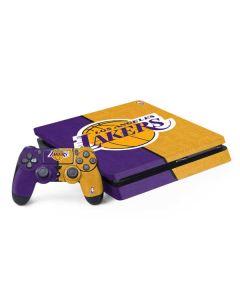Los Angeles Lakers Canvas PS4 Slim Bundle Skin