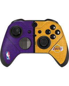 Los Angeles Lakers Canvas Xbox Elite Wireless Controller Series 2 Skin