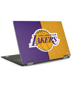 Los Angeles Lakers Canvas Dell XPS Skin