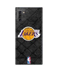 Los Angeles Lakers Dark Rust Galaxy Note 10 Skin