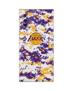 Los Angeles Lakers Digi Camo Galaxy Note 10 Skin