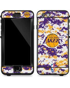 Los Angeles Lakers Digi Camo LifeProof Nuud iPhone Skin